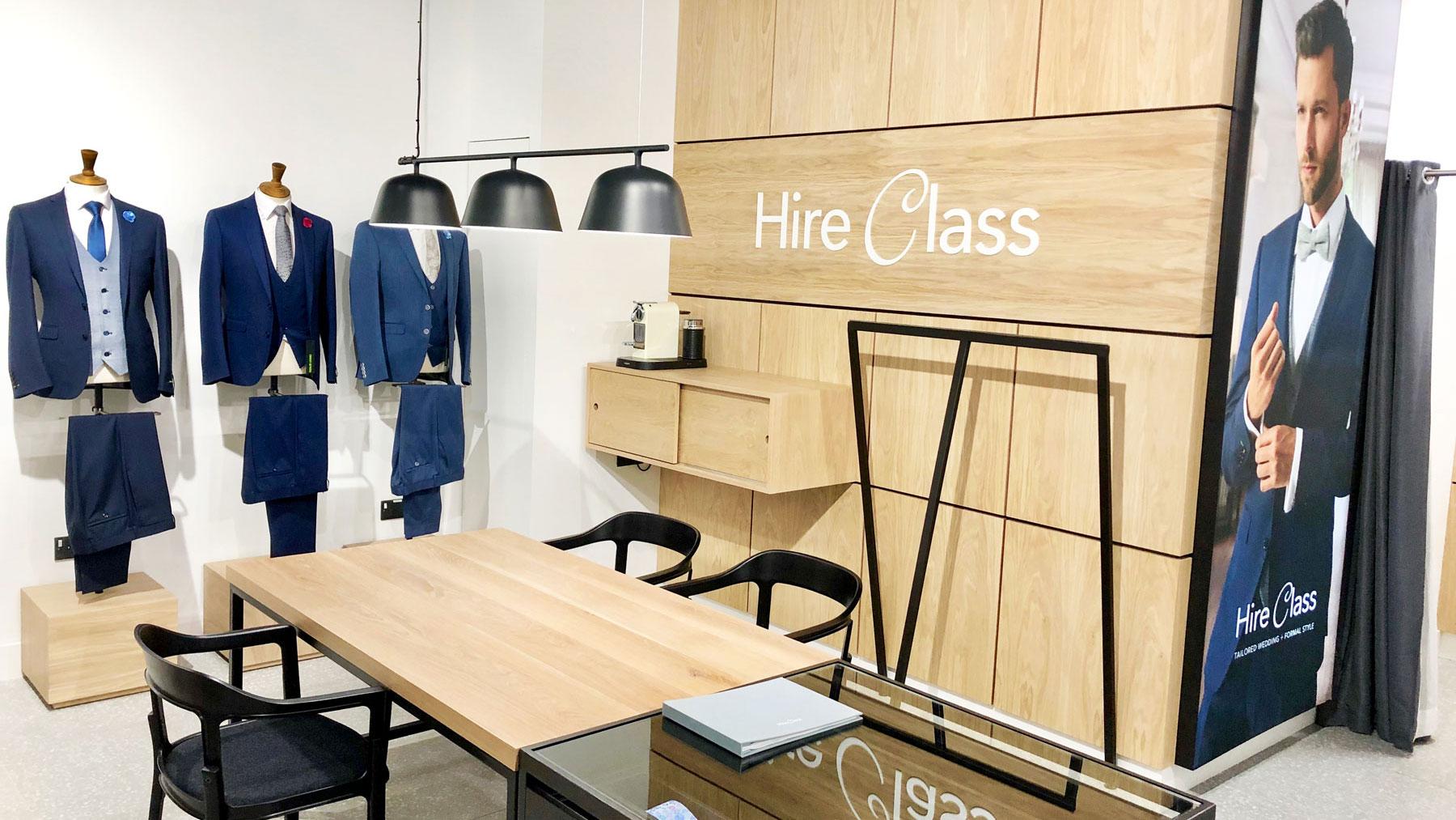 Hire Class unveils new concept store